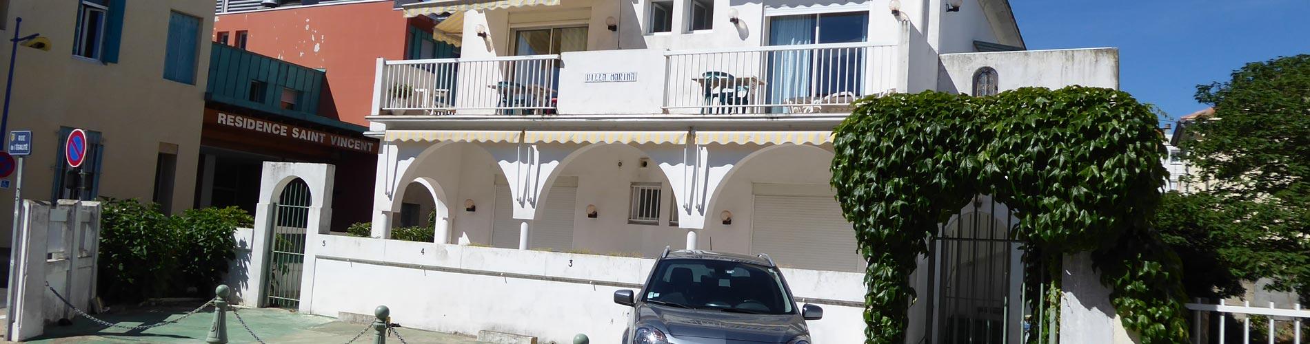 Location villa marina Grau du Roi
